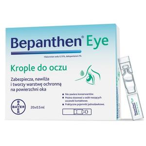 Bepanthen Eye, Krople do oczu marki Bayer - zdjęcie nr 1 - Bangla