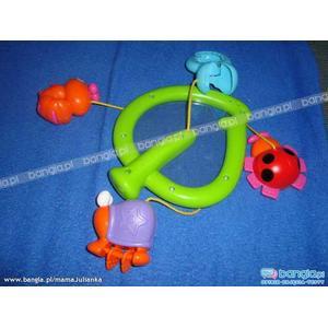 Zabawka/karuzela do wózka lub fotelika marki Tesco - zdjęcie nr 1 - Bangla