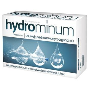 Hydrominum, Tabletki usuwajace nadmiar wody z organizmu marki Aflofarm - zdjęcie nr 1 - Bangla