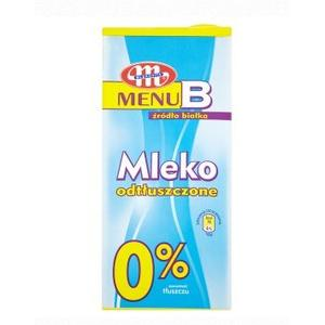 Mleko Menu B 0% marki Mlekovita - zdjęcie nr 1 - Bangla