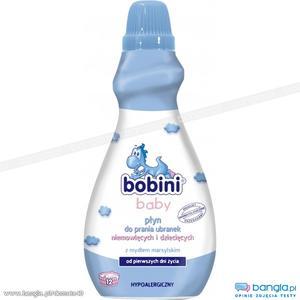 Baby, płyn do prania ubranek dziecięcych i niemowlęcych marki Bobini - zdjęcie nr 1 - Bangla