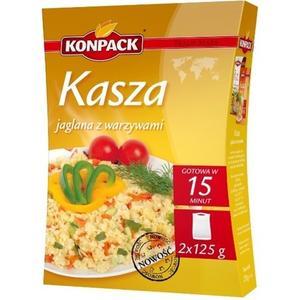 Kasza jaglana z warzywami marki Konpack - zdjęcie nr 1 - Bangla