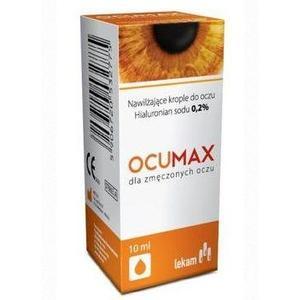 Ocumax 0,2% lub 0,4%, Krople nawilżajace marki Adamed - zdjęcie nr 1 - Bangla