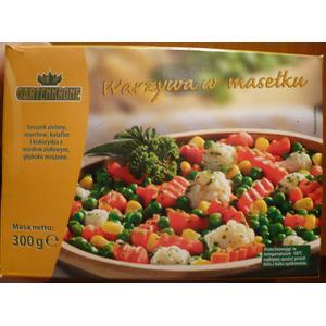 Gartenkrone, Warzywa w masełku marki Aldi - zdjęcie nr 1 - Bangla