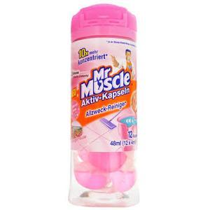 Kapsułki z koncentratem płynu do czyszczenia marki Mr Muscle - zdjęcie nr 1 - Bangla