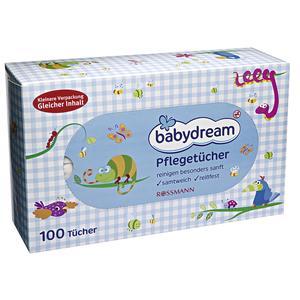 Babydream, Pflegetucher, Chusteczki pielęgnacyjne marki Rossmann - zdjęcie nr 1 - Bangla