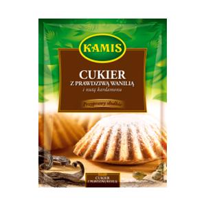 Cukier z prawdziwą wanilią i nutą kardamonu marki Kamis - zdjęcie nr 1 - Bangla