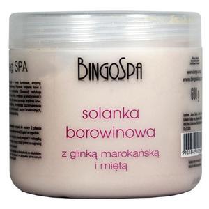 Solanka borowinowa z glinką marokańską i miętą marki BingoSpa - zdjęcie nr 1 - Bangla