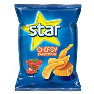 Chipsy karbowane - różne smaki marki Star - zdjęcie nr 1 - Bangla