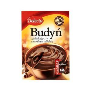 Budyń czekoladowy z kawałkami czekolady marki Delecta - zdjęcie nr 1 - Bangla