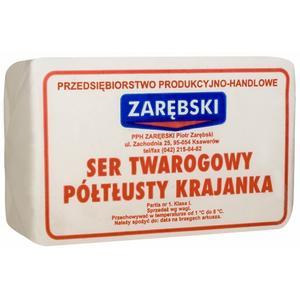Ser Twarogowy Półtłusty Krajanka marki Zarębski - zdjęcie nr 1 - Bangla