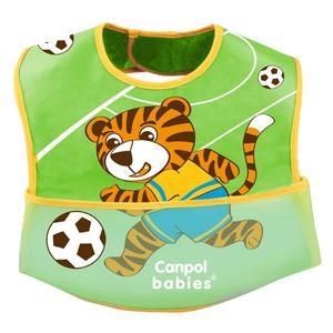 Śliniak ceratkowo-bawełniany z kieszonką na rzepy marki Canpol babies - zdjęcie nr 1 - Bangla