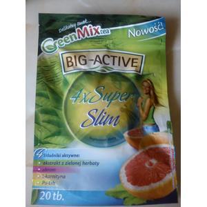 Green Mix Tea, 4 X Super Slim marki Big-Active - zdjęcie nr 1 - Bangla