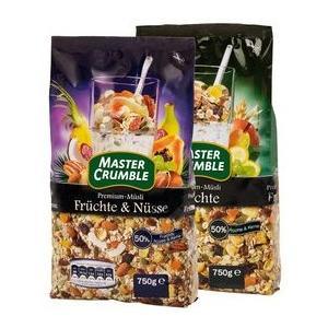 Master Crumble, Multifrucht Musli/Frucht & Nusse, Musli owocowe lub owocowo - orzechowe marki Lidl - zdjęcie nr 1 - Bangla