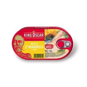 Filety z makreli w oleju marki King Oscar - zdjęcie nr 1 - Bangla