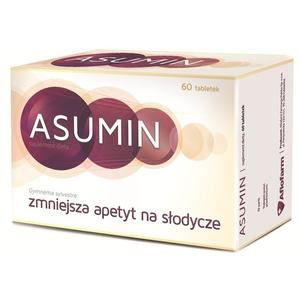 Asumin, tabletki zmniejszające apetyt na słodycze marki Aflofarm - zdjęcie nr 1 - Bangla
