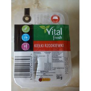 Vital fresh - Kiełki Rzodkiewki marki Biedronka - zdjęcie nr 1 - Bangla