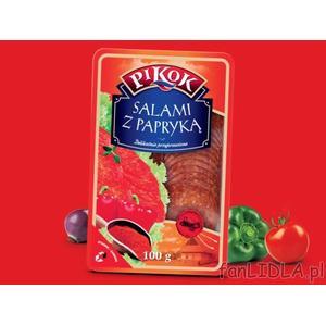 Pikok, salami różne rodzaje marki Lidl - zdjęcie nr 1 - Bangla