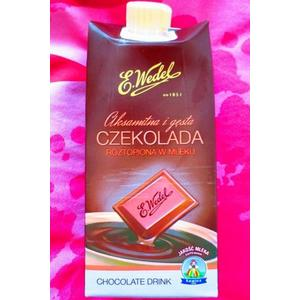 Wedel, Chocolate Drink, Aksamitna i gęsta czekolada roztopiona w mleku marki OSM Łowicz - zdjęcie nr 1 - Bangla