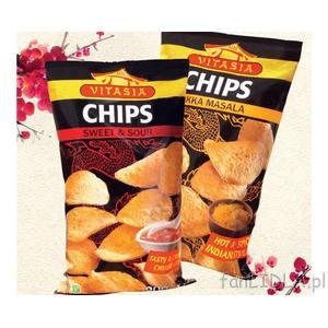 Vitasia Chips, różne rodzaje marki Lidl - zdjęcie nr 1 - Bangla