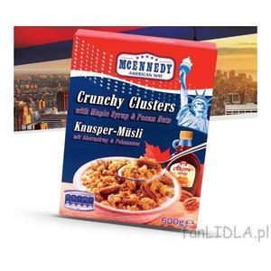 McEnnedy, Crunchy Clusters marki Lidl - zdjęcie nr 1 - Bangla