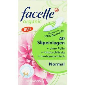 Facelle Organic Slipeinlagen, Wkładki różne wielkości marki Rossmann - zdjęcie nr 1 - Bangla