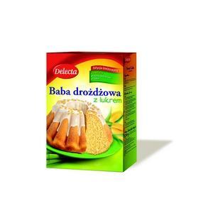 Baba drożdzowa z lukrem marki Delecta - zdjęcie nr 1 - Bangla
