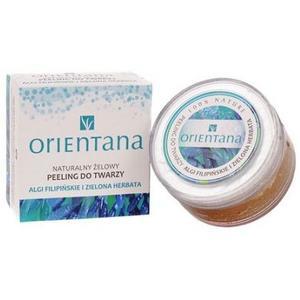 Naturalny żelowy peeling do twarzy algi filipińskie i zielona herbata marki Orientana - zdjęcie nr 1 - Bangla