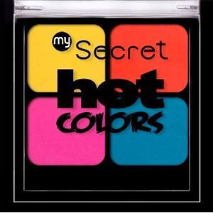 Hot Colors, Paletka cieni do powiek marki My Secret - zdjęcie nr 1 - Bangla