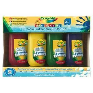 Farby do malowania palcami marki Crayola - zdjęcie nr 1 - Bangla