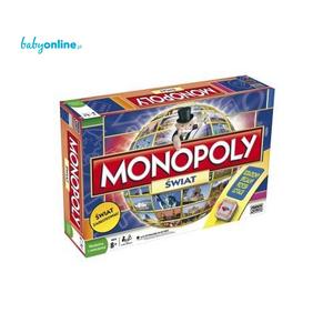 Hasbro, Monopoly Świat marki Hasbro - zdjęcie nr 1 - Bangla