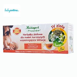 Herbapol, Herbatka ziołowa dla matek karmiących wspomagająca laktację IV Zioła marki Herbapol - zdjęcie nr 1 - Bangla