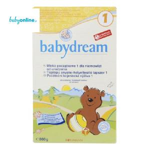 Rossmann, Babydream 1, Mleko początkowe 1 dla niemowląt od urodzenia marki Rossmann - zdjęcie nr 1 - Bangla