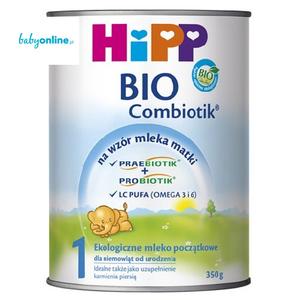 HiPP, Mleko początkowe BIO Combiotik 1 marki HiPP - zdjęcie nr 1 - Bangla