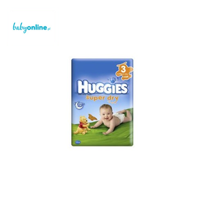 Huggies, Super Dry, Pieluszki Midi 4–9 kg marki Huggies - zdjęcie nr 1 - Bangla