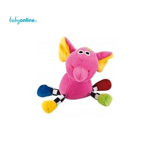 Canpol Babies, Welurowa zabawka dźwiękowa Zwariowane zwierzątka  marki Canpol babies - zdjęcie nr 1 - Bangla
