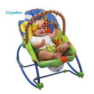 Fisher Price, Baby Gear, Infant to Toddler Rocker (Leżaczek ślimak) marki Mattel - zdjęcie nr 1 - Bangla