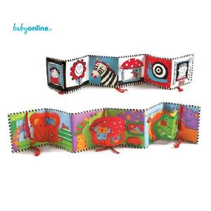 Tiny Love, Książeczka interaktywna - dwustronna marki Tiny Love - zdjęcie nr 1 - Bangla