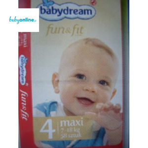 Rossmann, Babydream, Fun & Fit, Pieluszki Maxi 7–18 kg marki Rossmann - zdjęcie nr 1 - Bangla