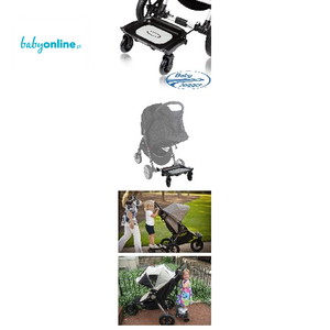 Baby Jogger, Dostawka do wózka dla drugiego dziecka Surfer marki Baby Jogger - zdjęcie nr 1 - Bangla