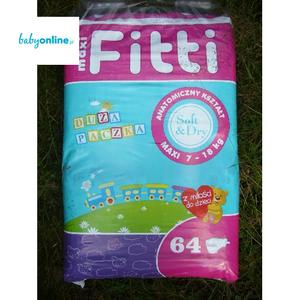 Biedronka, Fitti, Pieluszki Maxi 7–18 kg marki Biedronka - zdjęcie nr 1 - Bangla
