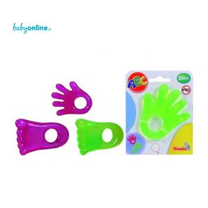 Simba, ABC, Gryzaki w kształcie stóp i dłoni marki Simba - zdjęcie nr 1 - Bangla