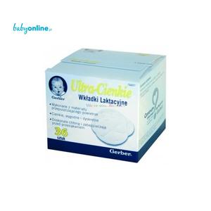 Gerber, Ultra - cienkie wkładki laktacyjne marki Kaszki Nestlé - zdjęcie nr 1 - Bangla
