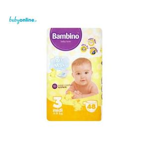 Hygienika SA, Bambino, Pieluszki midi 4–9 kg marki Hygienika SA - zdjęcie nr 1 - Bangla