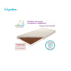 Vitmat, C0co Baby Antyalergic, Materac kokosowo-lateksowy marki Vitmat - zdjęcie nr 1 - Bangla