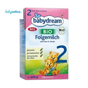 Rossmann, Babydream BIO, Mleko następne 2 dla niemowląt po 6 miesiącu życia marki Rossmann - zdjęcie nr 1 - Bangla