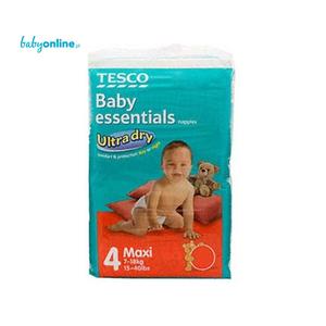 Tesco, Baby Essentials, Pieluszki Maxi 7–18 kg marki Tesco - zdjęcie nr 1 - Bangla
