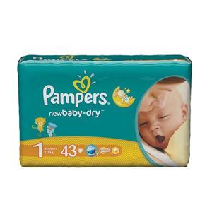 Pampers, New Baby-Dry, Pieluszki Newborn marki Pampers - zdjęcie nr 1 - Bangla