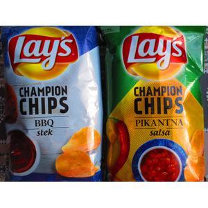 Champion Chips, Chipsy ziemniaczane, Różne smaki marki Lays - zdjęcie nr 1 - Bangla
