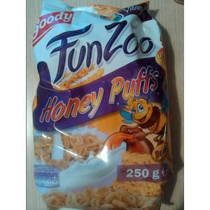Goody, Fun Zoo, Honey Puffs marki Lidl - zdjęcie nr 1 - Bangla